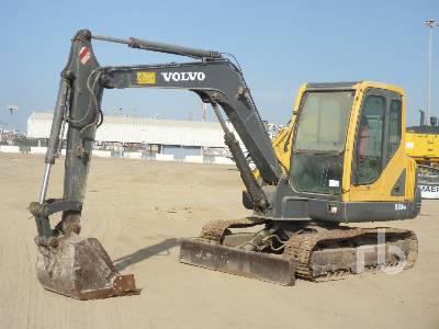 VOLVO EC55B Midi Excavator (5 - 9.9 Tons)