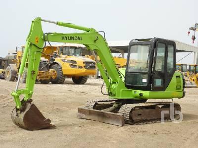 HYUNDAI R60-5 Midi Excavator (5 - 9.9 Tons)