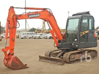 DOOSAN DH60-7 Midi Excavator (5 - 9.9 Tons)
