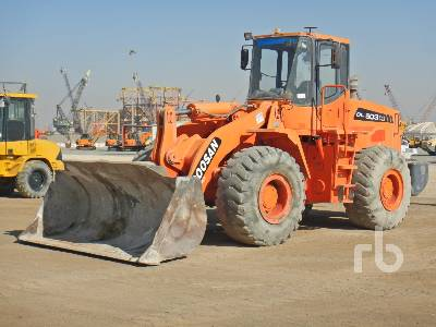 2014 DOOSAN DL503 GOLD Wheel Loader