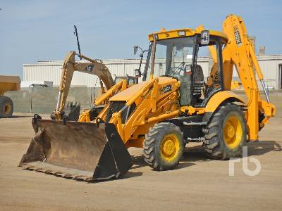 2007 JCB 3CX 4x4 Loader Backhoe