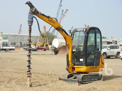 2012 JCB 8016 Mini Excavator (1 - 4.9 Tons)