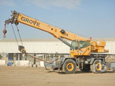 2006 GROVE RT530E 30 Ton 4x4x4 Rough Terrain Crane