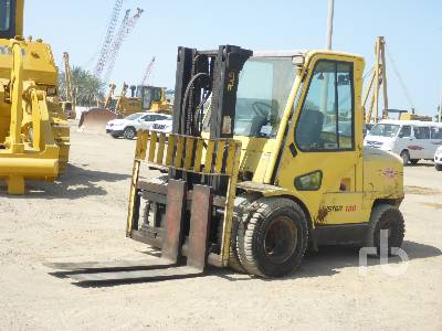 2000 HYSTER H100XM 5 Ton Forklift