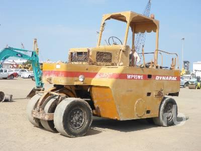 DYNAPAC WP15WE 7 Wheel Pneumatic Roller