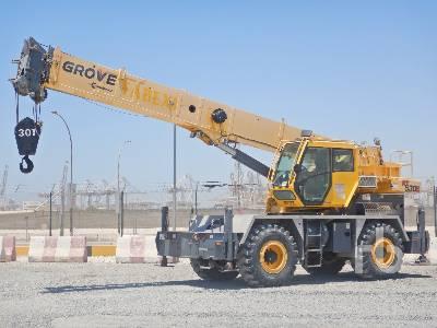 2016 GROVE RT530E 30 Ton 4x4x4 Rough Terrain Crane