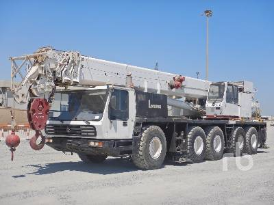 1992 KRUPP KMK5090 90 Ton 10x6x8 All Terrain Crane