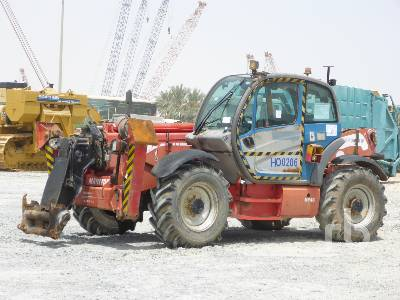 2011 MANITOU MT1440A Privilege 4x4x4 Telescopic Forklift