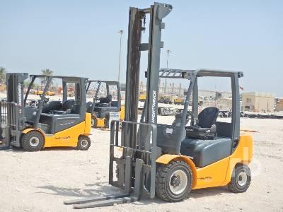 Unused 2014 JUNGHEINRICH DFG430 3 Ton Forklift