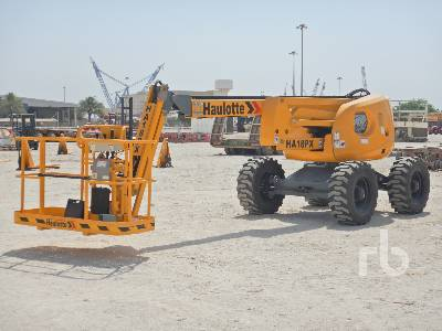 Unused 2018 HAULOTTE H18PX 4x4x4 Articulated Boom Lift