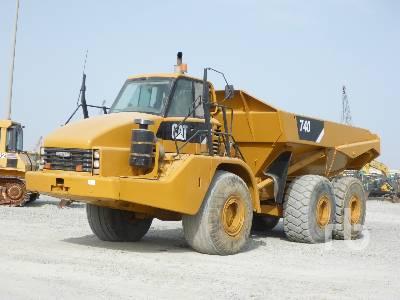 2009 CATERPILLAR 740 6x6 Articulated Dump Truck