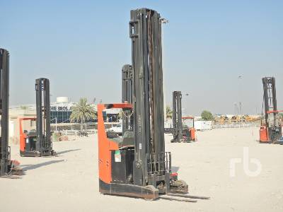 2013 BT 2 Ton Ride On 11.5 M High Reach Electric Forklift
