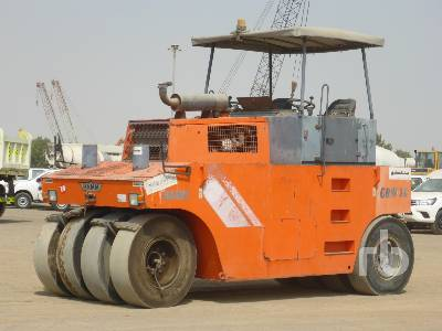 HAMM GRW18 8 Wheel Pneumatic Roller
