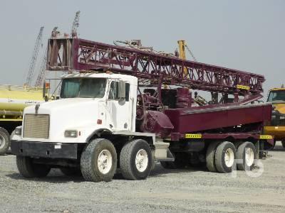 1990 KENWORTH T400 8x4 Water Well Drill Truck