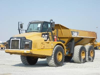 2012 CATERPILLAR 740B 6x6 Articulated Dump Truck