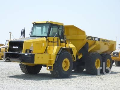 2005 KOMATSU HM400-1 6x6 Articulated Dump Truck