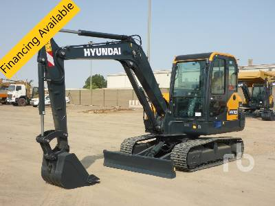 Unused 2021 HYUNDAI HX55 Midi Excavator (5 - 9.9 Tons)