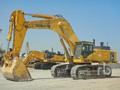 2008 KOMATSU PC750-7 Hydraulic Excavator