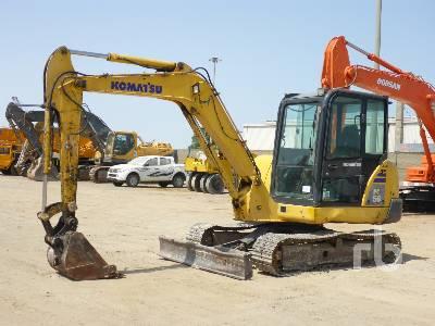 KOMATSU PC56-7 Midi Excavator (5 - 9.9 Tons)