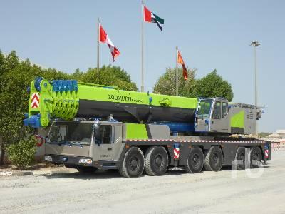 2016 ZOOMLION QAY200V633 200 Ton 12x8x10 All Terrain Crane