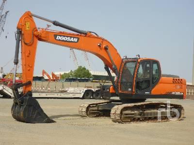 2017 DOOSAN DX225LCB Hydraulic Excavator