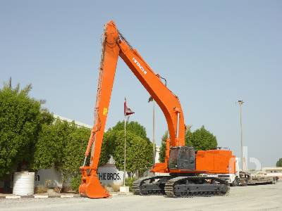 2009 HITACHI ZX850LC-3 Long Reach Hydraulic Excavator
