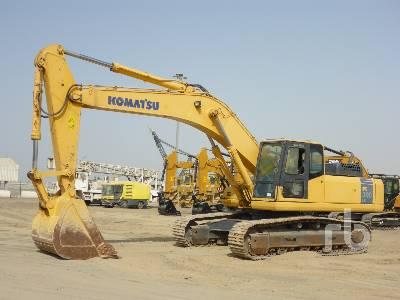 2017 KOMATSU PC300LC-7 Hydraulic Excavator
