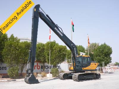 Unused HYUNDAI R245LR Smart Plus Long Reach Hydraulic Excavator