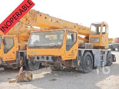 2008 XCMG QAY25 25 Ton 4x4x4 All Terrain Crane