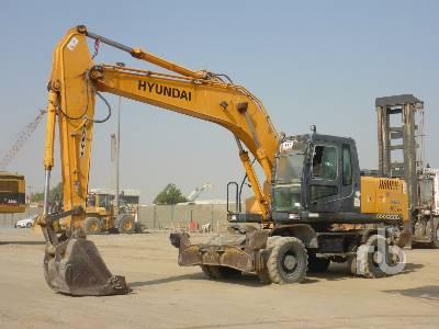 2012 HYUNDAI ROBEX 200W-7 Mobile Excavator