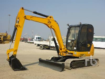 JCB 8052 Midi Excavator (5 - 9.9 Tons)