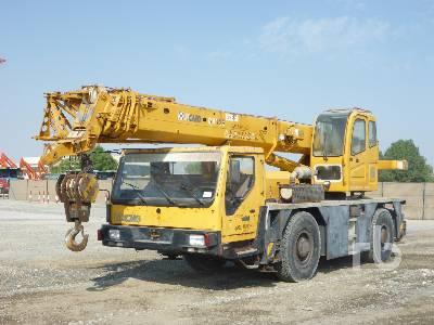 2007 XCMG QAY25 25 Ton 4x4x4 All Terrain Crane