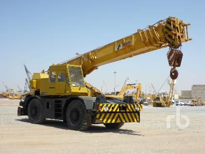 TADANO TR500M 50 Ton 4x4x4 Rough Terrain Crane