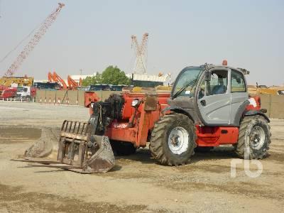 2009 MANITOU MT1840 Privilege 4x4x4 Telescopic Forklift