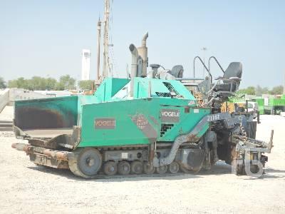 VOGELE 2116T Crawler Asphalt Paver