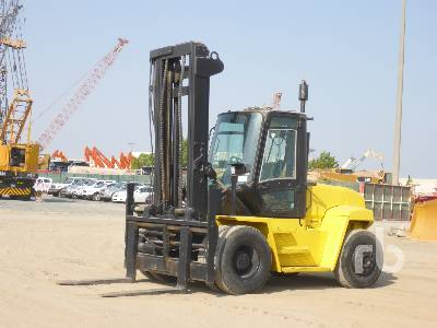 2004 HYSTER H10.00 10 Ton Forklift