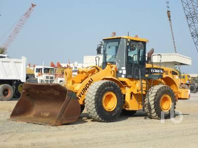 2009 HYUNDAI HL760-7A Wheel Loader