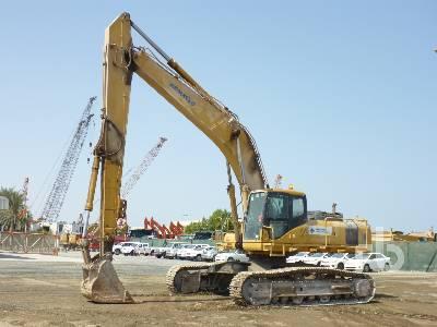 2012 KOMATSU PC400-7 Long Reach Hydraulic Excavator