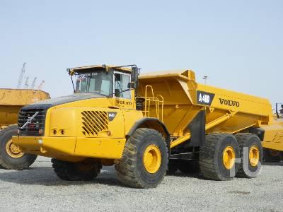 2003 VOLVO A40D 6x6 Articulated Dump Truck