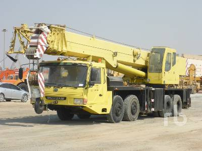 2005 ZOOMLION QY50II 50 Ton 8x4x4 Hydraulic Truck Crane