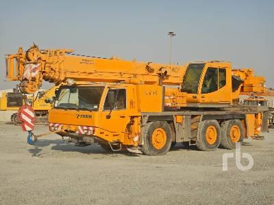 2005 TADANO-FAUN ATF60-3 60 Ton 6x6x6 All Terrain Crane