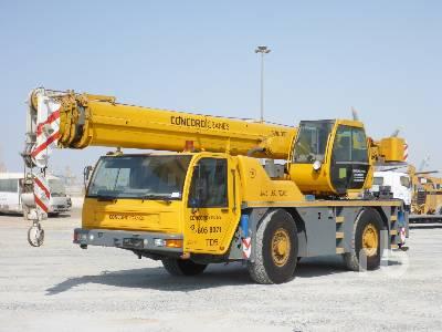 2003 TEREX AC35 35 Ton 4x4x4 All Terrain Crane