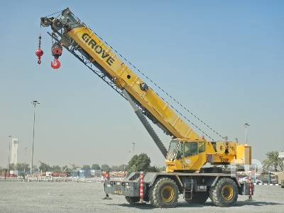 2007 GROVE RT600E 50 Ton 4x4x4 Rough Terrain Crane