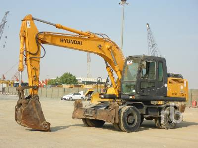 2011 HYUNDAI ROBEX 170W-7 Mobile Excavator
