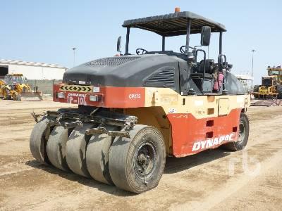 DYNAPAC CP275 9 Wheel Pneumatic Roller