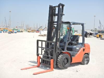 2015 TOYOTA 02-8FGL30 3 Ton Forklift