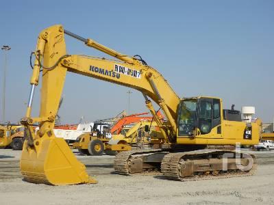 2014 KOMATSU PC400LC-8 Hydraulic Excavator
