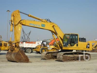 2011 KOMATSU PC400LC-8 Hydraulic Excavator