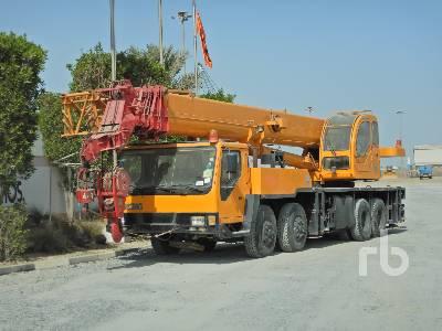 2006 XCMG QY50K 50 Ton 8x4x4 Hydraulic Truck Crane