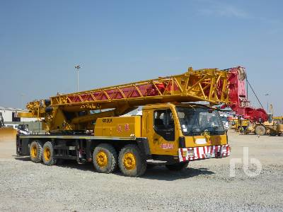 2008 XCMG QY50K 50 Ton 8x4x4 Hydraulic Truck Crane